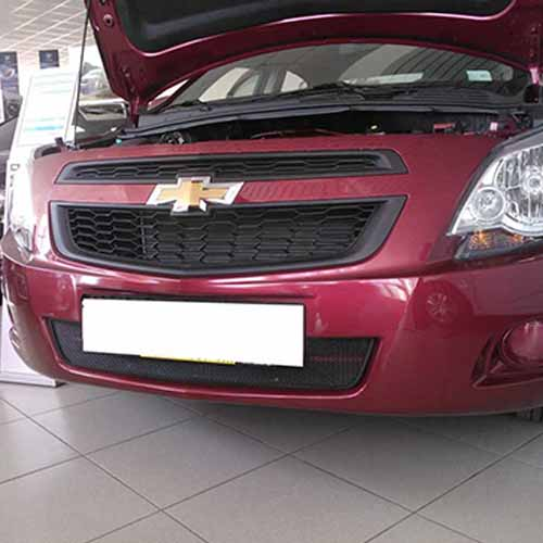 Защита радиатора Chevrolet Cobalt black низ