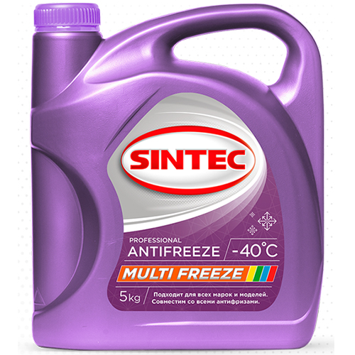 Антифриз SINTEC Multifreeze 5кг